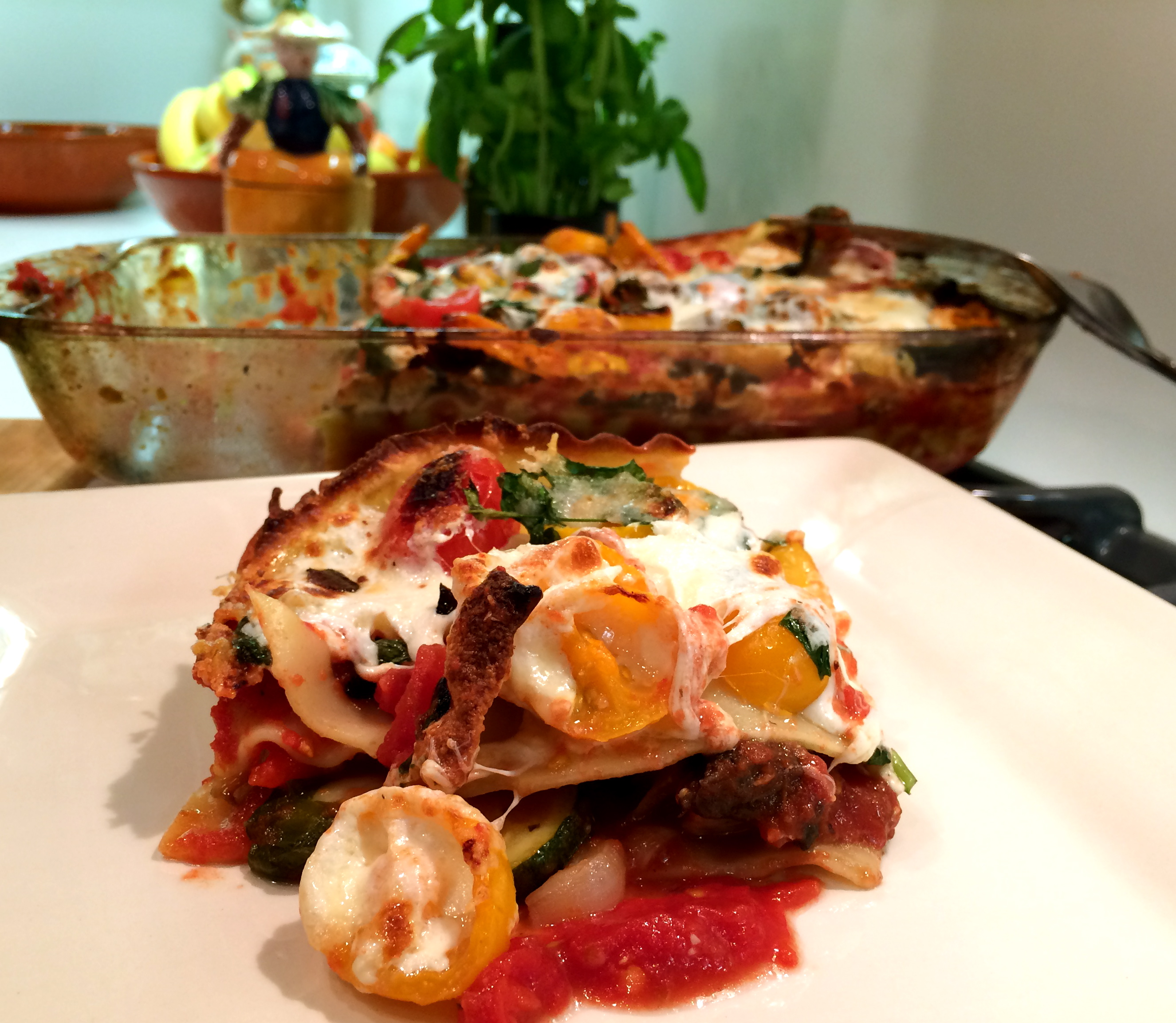Protected: Slim Man Cooks Roasted Vegetable Lasagna