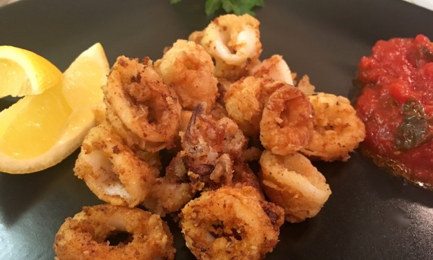 Slim Man Cooks Fried Calamari with a Baltimore Twist