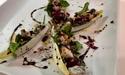 Slim Man Cooks Endive, Arugula, and Radicchio Salad