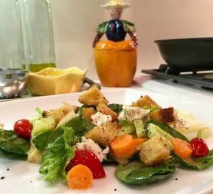 croutons salad