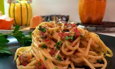 Slim Man Cooks Pasta Carbonara