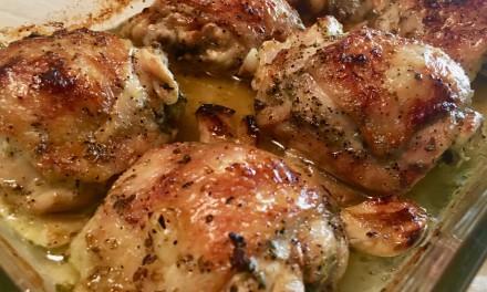 Slim Man Cooks Kickin' Greco-Italian Chicken