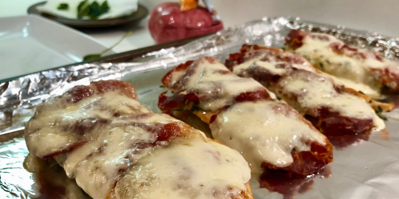 Slim Man Cooks Chicken Saltimbocca
