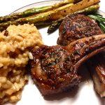 Slim Man Cooks Lamb Chops with Rosemary and Garlic