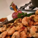 Slim Man Cooks Steamed Shrimp with Old Bay